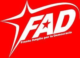 Felicidades al Frente Amplio por la Democracia, Una Nueva Esperanza ...