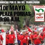 Central Nacional de Trabajadores de Panamá – CNTP. Convocatoria al 1ero de Mayo