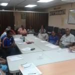 Reunión del Área de Organización