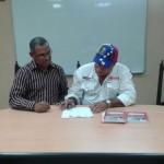 Firma de Convenio CNTP y el Sindicato del Ministerio de Petroleo de Venezuela