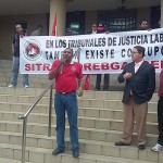 Trabajadores de la FAT y Sitrafcorebgascelis protestaron en La Corte
