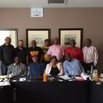 Delegación de CNTP en Cuba