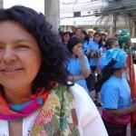 Un homenaje a Berta Cáceres a un año de su asesinato en el que el Gobierno fue cómplice