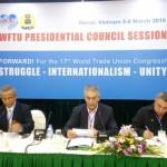 Discurso de George Manvrikos en el Consejo Presidencial