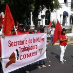 Informe de Red de mujeres sindicalistas. 1 de mayo 2016