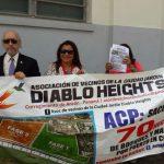 Moradores de DIABLO Ponen denuncia ante la Corte contra la ACP