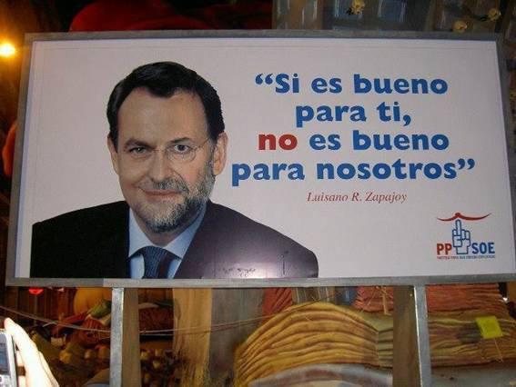 Trabajadores españoles repudian en las calles situación del País.