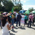 Coordinadora de Bugabeña protesta contra hidroeléctricas