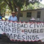 Gnobe Bugle llevan sus protestas al PNUD