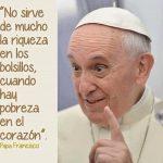 Mensaje de Papa Francisco