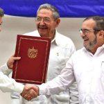 """A partir de hoy """"No habrá más guerra en Colombia"""""""