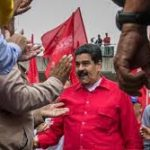 Gran manifestación Roja en Plaza Caracas 1 de Septiembre
