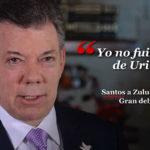 Presidente Juan Manuel Santos ganador del Premio nóbel de la Paz.