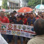 La CNTP hace acto de presencia en la Embajada Cubana