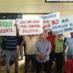 El 19 de Diciembre marcharon los productores de arroz.