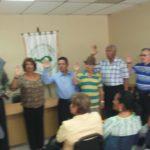 Nueva Junta directiva de Confederacion Nacional de Jubilados y Pensionados
