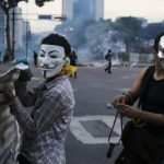Imágenes de la contra Revolución en la República Bolivariana de Venezuela
