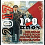 Sindicatos de Colombia hacen conmemoración del centenario de la gran Revolución socialista de octubre.