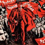 Miles participan en lo actos para celebrar los 100 años de la Revolución de Octubre.