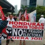 Manifestaciones multitudinarias en Honduras pidiendo a Nasralla como Presidente