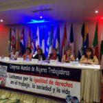 Finaliza Congreso Mundial de Mujeres Trabajadoras en Panamá