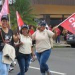 CNTP en la Marcha del 1 de mayo