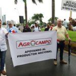 *Marcha por la dignidad de los productores*