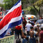 "Dïa 15 de Huelga nacional en Costa Rica. ""Solidaridad Internacional"""