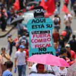 La Federación Sindical Mundial (FSM) hace un llamado a reforzar la solidaridad internacional con la huelga general indefinida de los trabajadores de  COSTA RICA.
