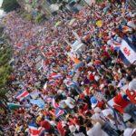 Costa Rica: Multitudinaria marcha contra el plan fiscal a pesar de acciones represivas del gobierno