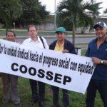 Coosep y Suntracs protestan en reunion regional de la OIT