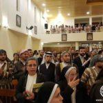 El patriarca Sirio- Católico IGNACE YOUSSIF III YOUNAN visita al Presidente AL-ASSAD