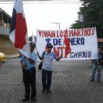Trabajadores de Chiriquí conmemoran gesta heroica de mártires de Enero.