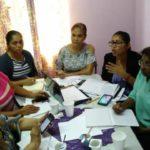 Reunión de la Red de Mujeres Trabajadoras en Panamá