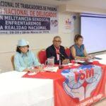 Inaguración del Consejo de delegados de la CNTP