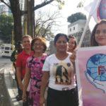 Mitin de cierre en Día de la Mujer trabajadora. Fsm Panama.